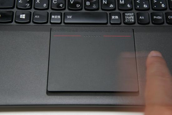 ThinkPad X240sのタッチパッドジェスチャ機能