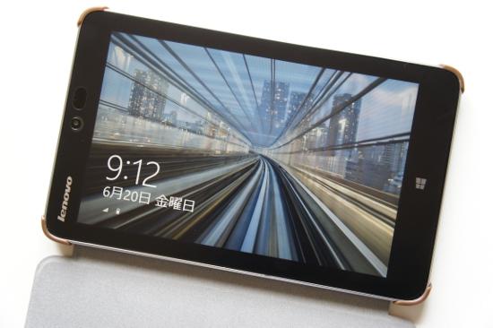 miix 2 8 128GBモデルの画面