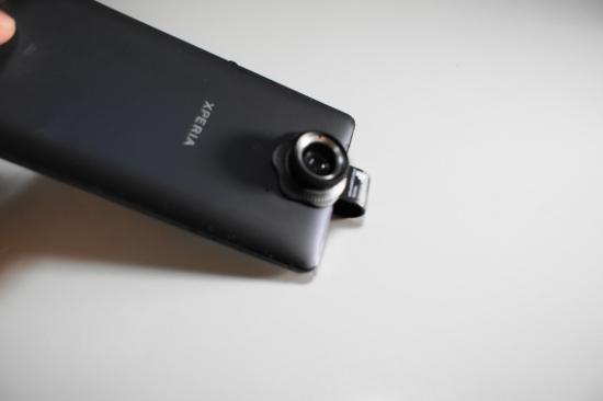 レンズの取り付け(カメラ側)
