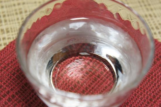 緑川『純米吟醸』は無色透明