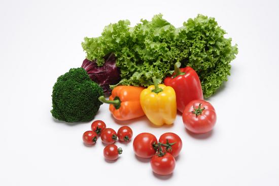 野菜の集合写真
