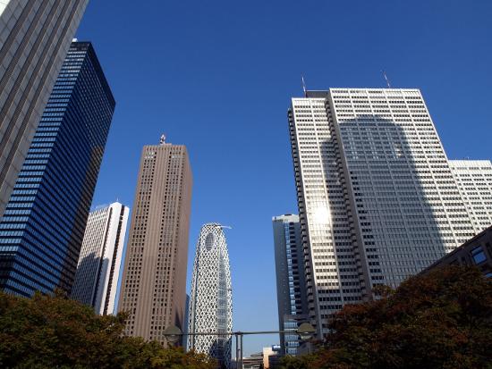 新宿副都心高層ビル