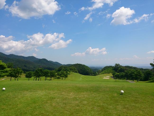 ゴルフ場ティーグラウンド