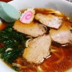 ゴルフ場の帰りに食べた「木挽食堂」の醤油ラーメンは昔ながらの中華そば風で美味かった!