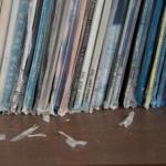LPレコードのジャケットカバーの劣化しても安心!専用カバーは取り扱われていました!