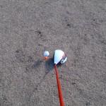冬ゴルフのティーアップは置くだけの『put tee』が便利!